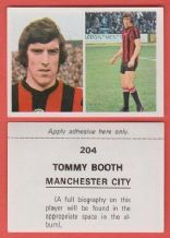 Manchester City Tommy Booth